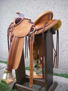 Saddles - Custom Saddles, Wade Saddles, Cowboy Gear - Steve